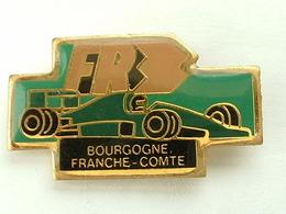 PIN'S F1 - FR3 - BOURGOGNE FRANCHE COMTE - F1