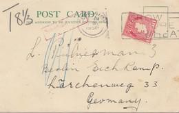 Irland: 1936 Post Card Nach Deutschland - Ohne Zuordnung