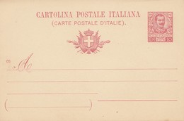 Italien: Cartolina Postale Italiana-  Ganzsache - Italie