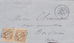 Brief Aus Sedan 1869 - France