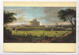 VANVITELLI, Roma, Veduta Dei Prati Di Castello, Unused Postcard [23318] - Paintings