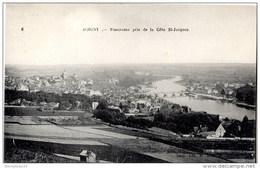 CPA (Réf :F251) (89 YONNE)  JOIGNY  Panorama Pris De La Côte St Jacques - Joigny