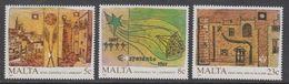 Malta 1987 Anniversairies 3v ** Mnh (43826) - Malta