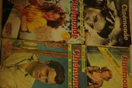 Magazine    Cinema  Cinemonde  1948 N 618 744 743 746 - Magazines
