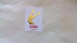 Carte Parfumée Gaultier Scandal - Modernes (à Partir De 1961)