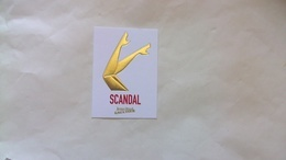 Carte Parfumée Gaultier Scandal - Perfume Cards