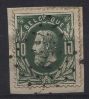 N°30 Obl. LP 59 LE BRULY. Coba 25€ - 1869-1883 Léopold II