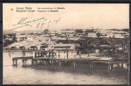 Congo - Entier Postal Stibbe 42 - Vue 61 Vue Panoramique De Matadi - Sakania Bruxelles Belgique - 1914 - C8 - Ganzsachen