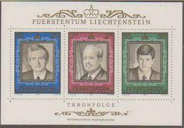 Liechtenstein 1988 Thronfolge M/s ** Mnh (43827) - Blokken