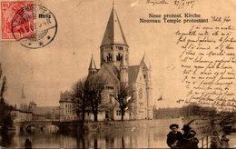 57 - METZ - Nouveau Temple Protestant - Metz
