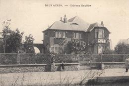 Deux-Acren - Château Debilde - Très Belle Carte - Animée - état Voir Scan. - Lessines