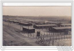 """Carte-Photo Très Rare  Réf-JP-N-330 (  Allemagne )  GEFANGENENLAGER   """""""""""""""" Camp De Prisonniers """""""""""" - Deutschland"""