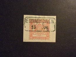 Baden Mi. 18 Briefstück Mit Billetstempel In Bal Emmendingen - Selten - Baden