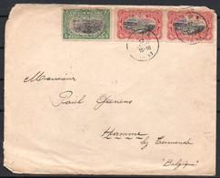 Congo - Lettre Mail Dima Hamme Belgique 1911 - C8 - 1894-1923 Mols: Covers