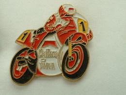 PIN'S MOTO YAMAHA MARLBORO - Motos