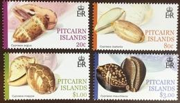 Pitcairn Islands 2001 Cowrie Shells MNH - Muscheln