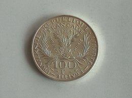 FRANCE 100 Francs 1984 Marie Curie - Silver, Argent - France