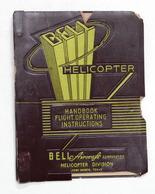 Aeronautica Elicotteri Flight Handbook USAF Series Bell H-13G Helicopter - 1953 - Libros, Revistas, Cómics