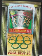 GUINEA EQUATORIALE - 1976 - GIOCHI OLIMPICI ESTIVI MONTREAL  - BLOCCO USATO - (MICHEL BL 201) - Estate 1976: Montreal