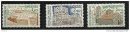 "FR Service YT 79 & 81 "" UNESCO Patrimoine Universel "" 1984 Neuf** - Mint/Hinged"