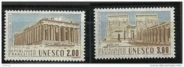 "FR Service YT 98 à 99 "" UNESCO "" 1987 Neuf** - Mint/Hinged"