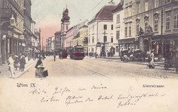 Wien 9., Alserstraße Mit Tramway 1906 !!! - Zonder Classificatie