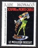Monaco 2495/96 Arts , Affiches, Biscuits, Publicité - Alimentazione