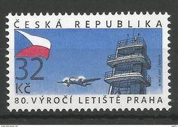 Tchequie 2017 80 Ans De L Aéroport Vaclav Havel De Prague / Prag Airport - Neufs