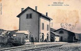 83 Var CARQUEIRANNE La Gare Ligne Du Sud 1910 - Carqueiranne