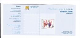 Carnet Noël 2006 De 10  Timbres C 474  / Booklet Christmas 2006  Mi 57 (546) - Slovaquie