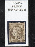 Pas-de-Calais - N° 56 Obl GC 6157 Bruay - 1871-1875 Cérès