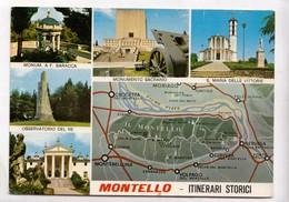 MONTELLO, ITINERARI STORICI, Used Postcard [23322] - Other