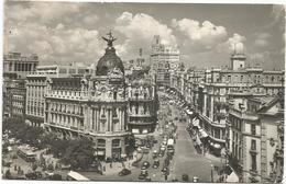 W4002 Madrid - El Fenix Y Avenida José Antonio - Auto Cars Voitures / Viaggiata 1962 - Madrid