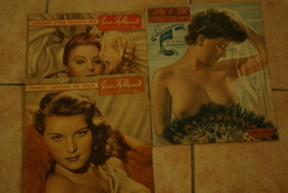 4 Magazines  Paris Hollywood Pin Up French Cancan N 61 52 98 48 - Magazines