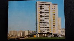 CPSM VENISSIEUX RHONE ZUP DES MINGUETTES ED CIM 1974 APPARTEMENT ENTOURE STYLO - Vénissieux