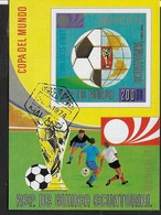 GUINEA EQUATORIALE - 1974 - COPPA MONDIALE CALCIO GERMANIA - BLOCCO USATO - (MICHEL BL 96) - Coppa Del Mondo