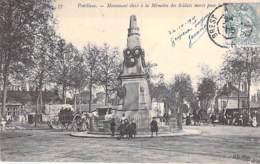 72 - PONTLIEUE - Le Monument Aux Morts - CPA 1905 - Sarthe - Le Mans
