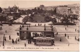 NICE - Le Jardin Public Et Le Palais De La Jetée - Vue Prise Du Casino - Panoramic Views