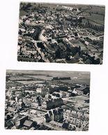 ISIGNY Sur MER  14  Vue Aerienne . Petit Lot De 2 Cartes .1956 - France