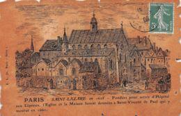 75-PARIS ANCIEN SAINT LAZARE-N°1196-F/0109 - Francia