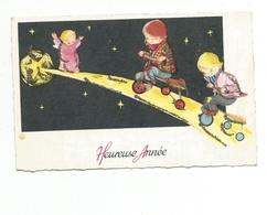 Carte Mignonnette - Bonne Année ,enfants - Nouvel An