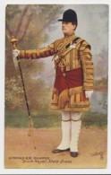 AI65 Military - Grenadier Guards, Drum Major, State Dress - Tuck Oilette - Regiments
