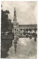 W4013 Sevilla - Plaza De Espana - Torre Norte / Viaggiata 1955 - Sevilla (Siviglia)