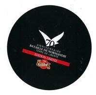 """Etiquette Fromage 70° Anniversaire Bataille De Normandie Terre De Liberté Gillot """" édition Limitée"""" - Cheese"""