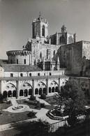 Espagne Tarragona Cathedrale Vue Prise Du Cloître (2 Scans) - Tarragona