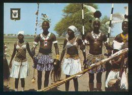 Sudán. *Dressing For A Dance. In The Southern Sudan* Nilo Distr. Nº 11B. Nueva. - Sudán