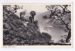 AK36 Burg Rheinstein - Inc River With Boat - Other