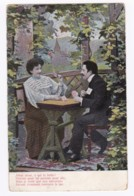 AK36 Romance - Couple Chatting In A Garden - Couples