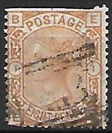 GRANDE - BRETAGNE   -   1876 .  Y&T N° 61 Oblitéré. - Usados