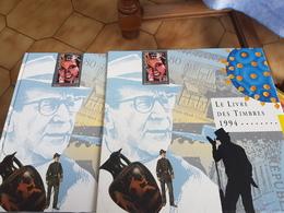 Livre Des Timbres 1994 Complet - Documents De La Poste
